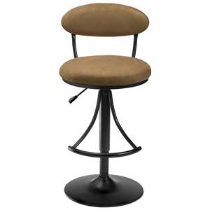 Hillsdale Metal Stools Adjustable Height Venus Swivel Stool