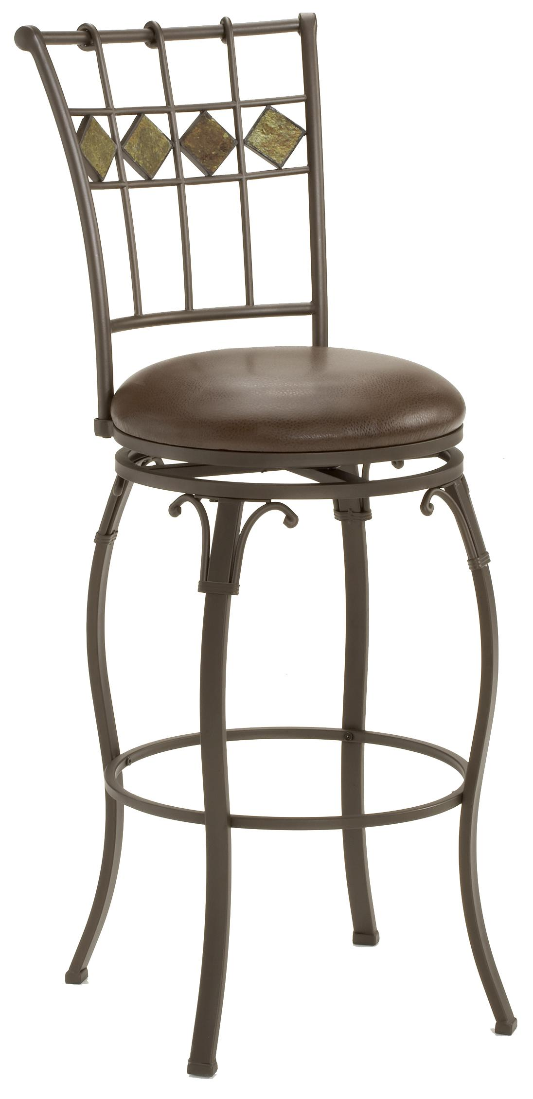 "Hillsdale Metal Stools 24"" Counter Height Lakeview Stool - Item Number: 4264-826"