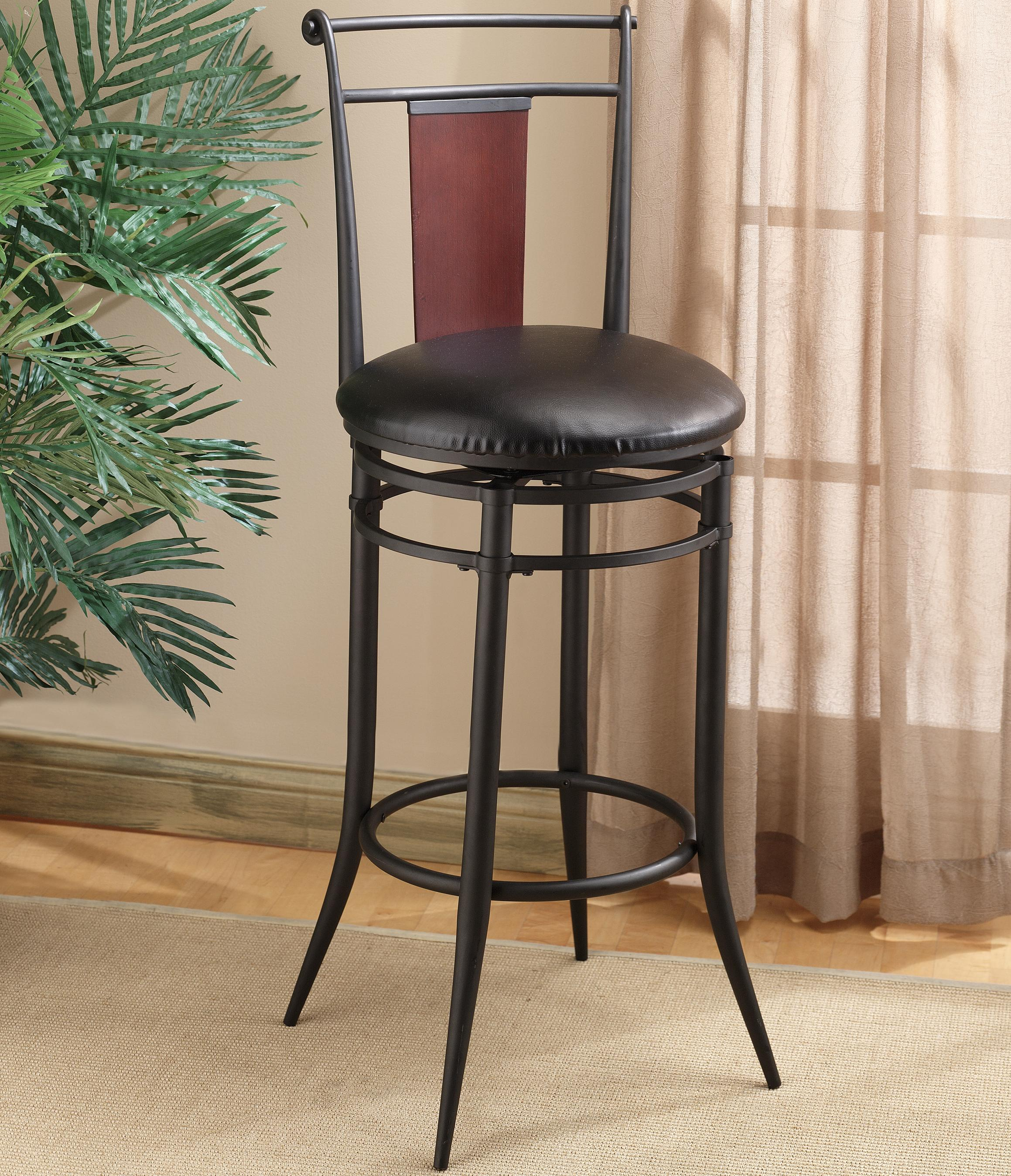 Metal stools 24 5 counter height midtown stool by hillsdale wolf furniture - Aluminum counter height stools ...