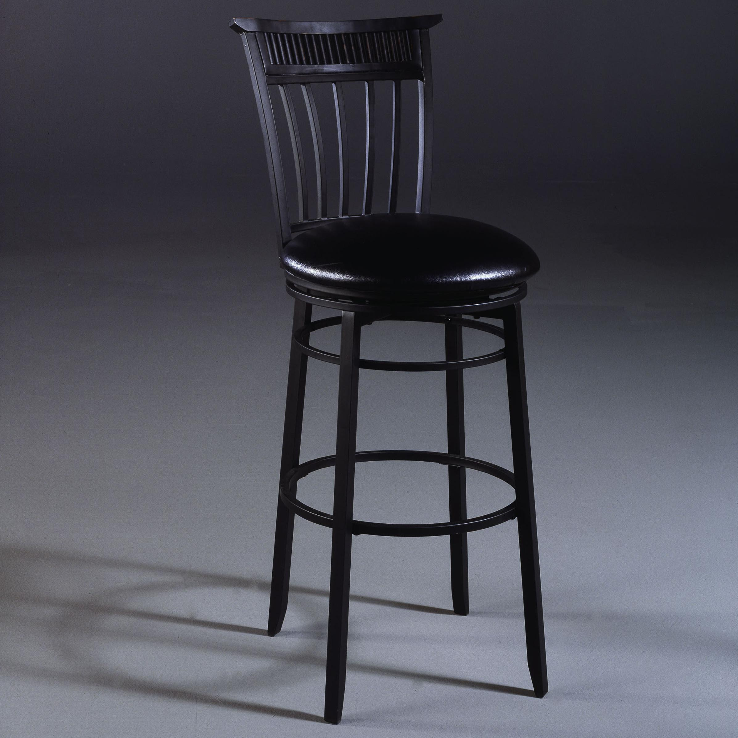 "Hillsdale Metal Stools 26"" Counter Height Cottage Swivel Stool - Item Number: 4366-826"
