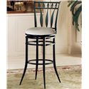 "Hillsdale Metal Stools 26"" Counter Height Hudson Swivel Stool - Item Number: 4506-826"