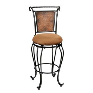 "Hillsdale Metal Stools 30"" Bar Height Milan Stool"