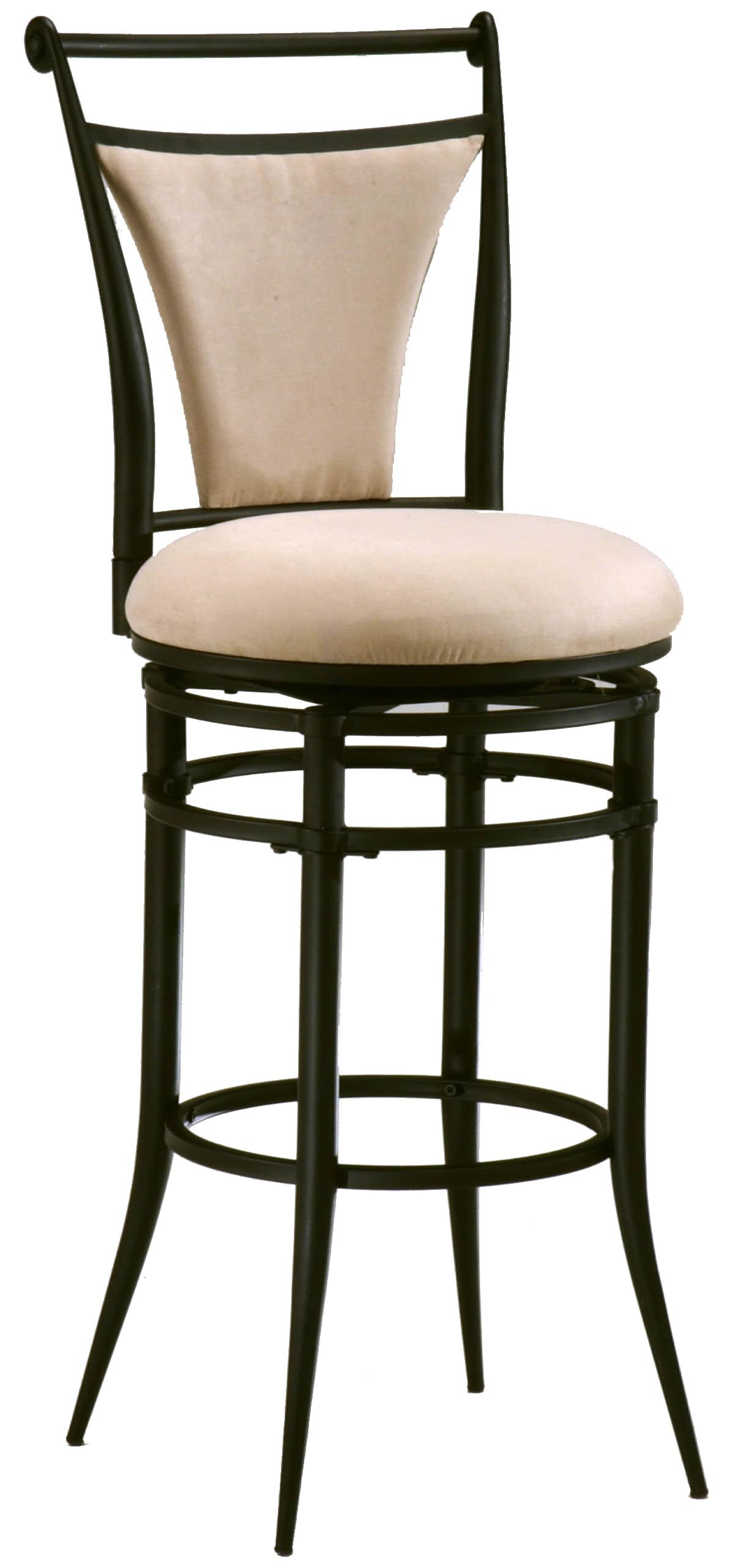 "Hillsdale Metal Stools 30"" Bar Height Fawn Cierra Stool  - Item Number: 4592-837"