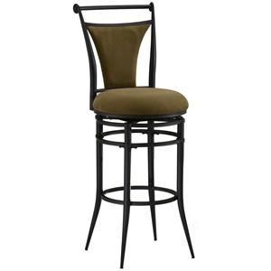 "Morris Home Furnishings Metal Stools 30"" Bar Height Bear Cierra Stool"