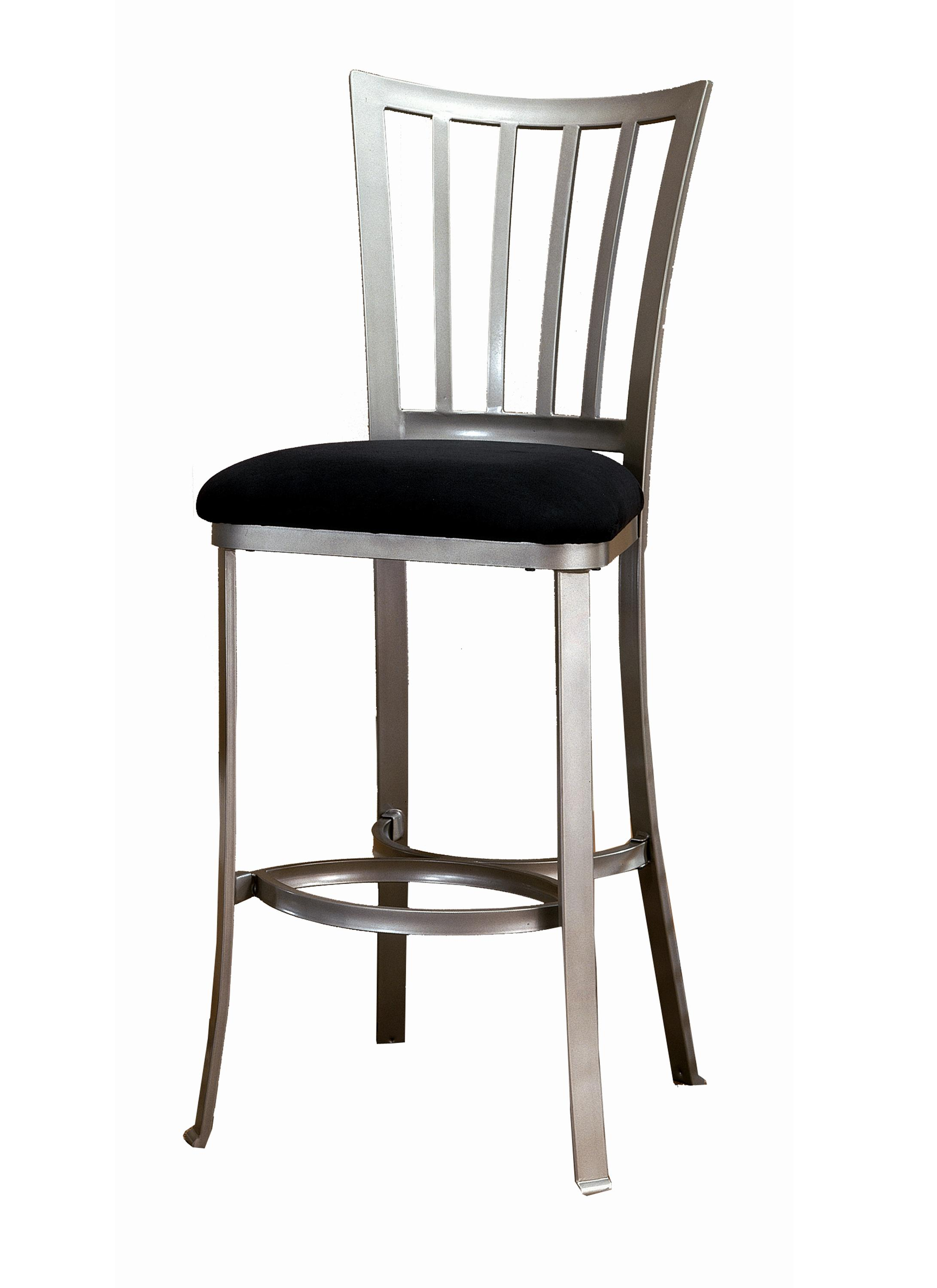 Metal stools 26 counter height delray stool by hillsdale wolf furniture - Average height of bar stools ...