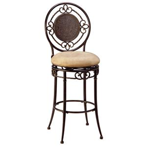 "Morris Home Furnishings Metal Stools 26"" Counter Height Richland Stool"