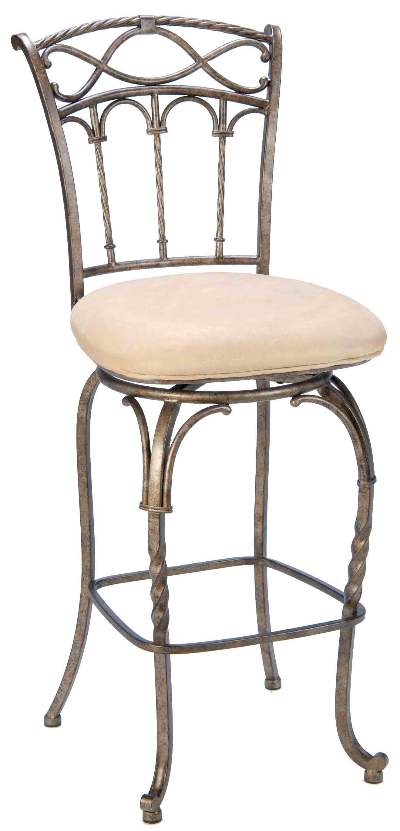 Hillsdale Metal Stools 4708 827 26 Quot Counter Height Kendall