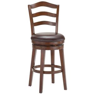 Morris Home Furnishings Metal Stools Windsor Swivel Bar Stool