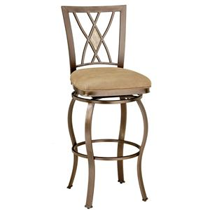 "Morris Home Furnishings Metal Stools 24"" Counter Height Brookside Stool"