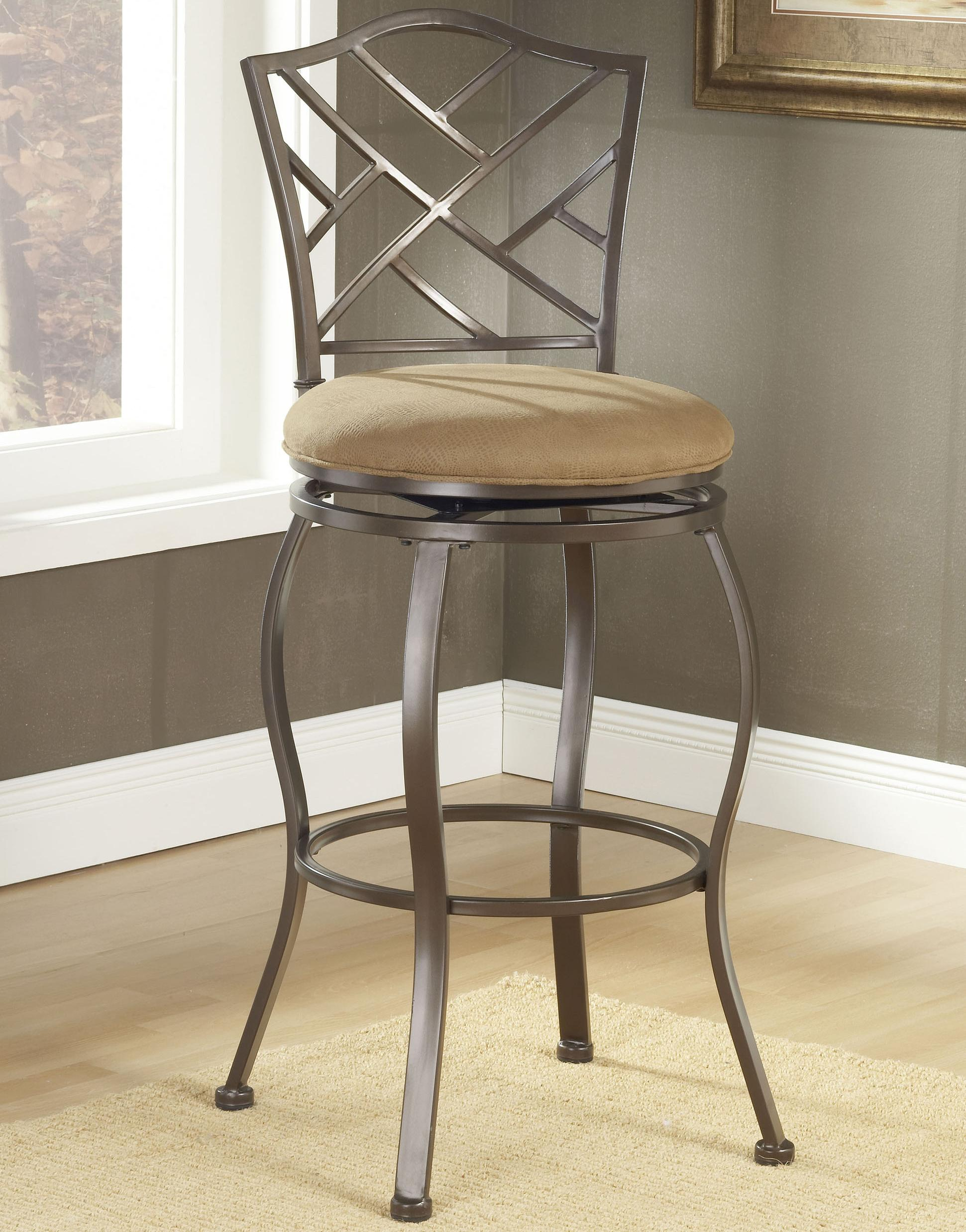 "Hillsdale Metal Stools 30"" Bar Height Hanover Swivel Stool  - Item Number: 4815-844"