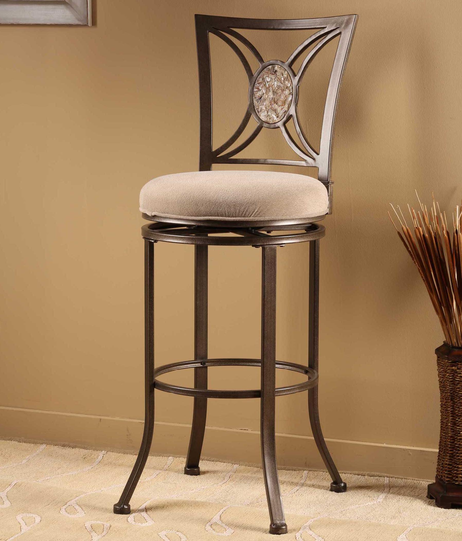 Hillsdale Metal Stools Rowan Swivel Bar Stool  - Item Number: 4897-830
