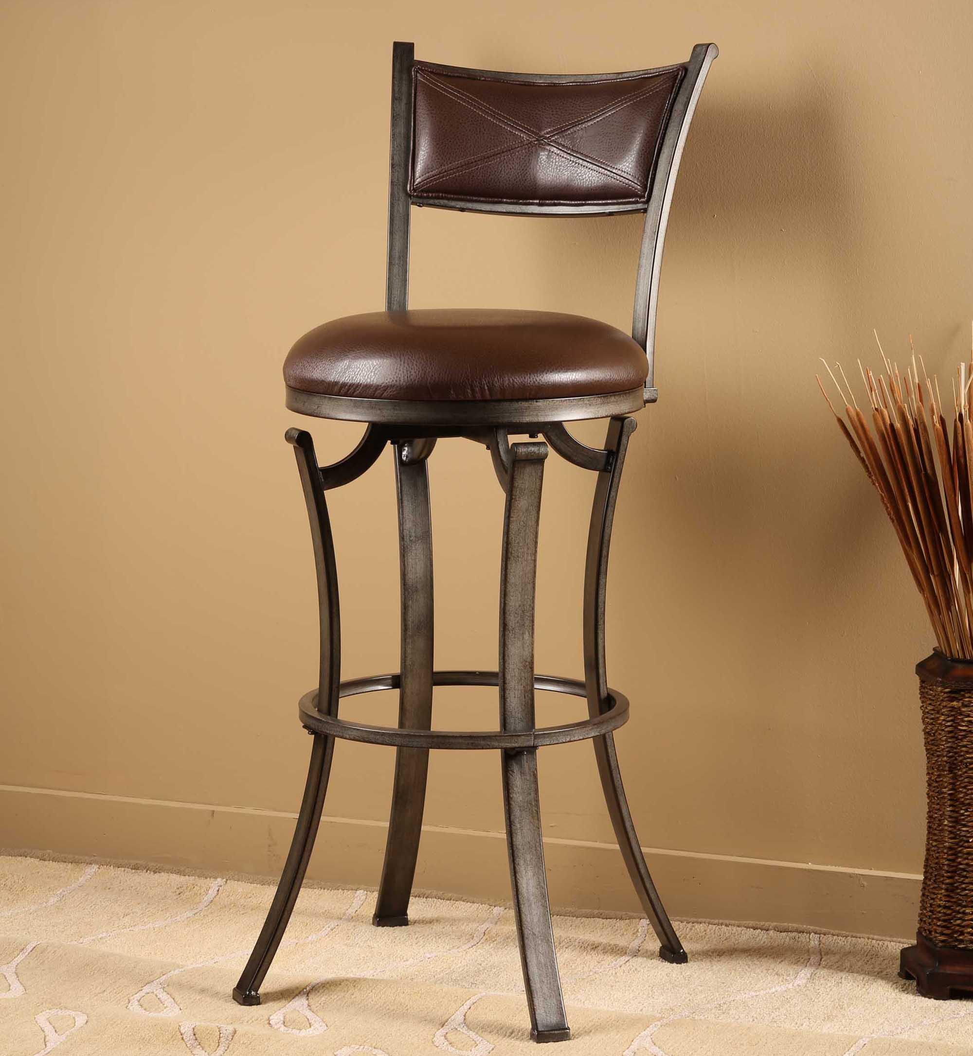 Hillsdale Metal Stools Drummond Swivel Counter Stool - Item Number: 4919-826