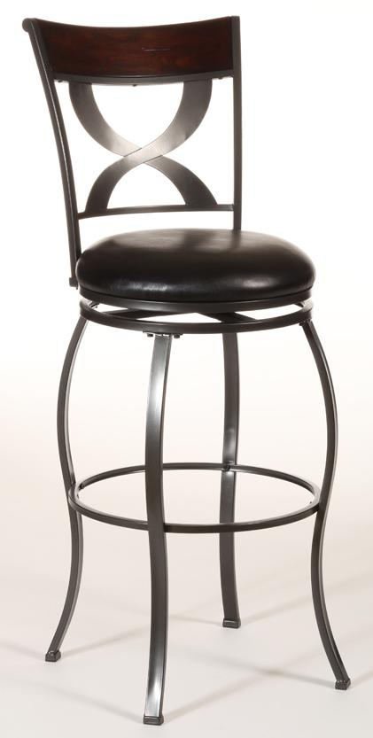 Hillsdale Metal Stools Stockport Swivel Counter Stool - Item Number: 4937-826