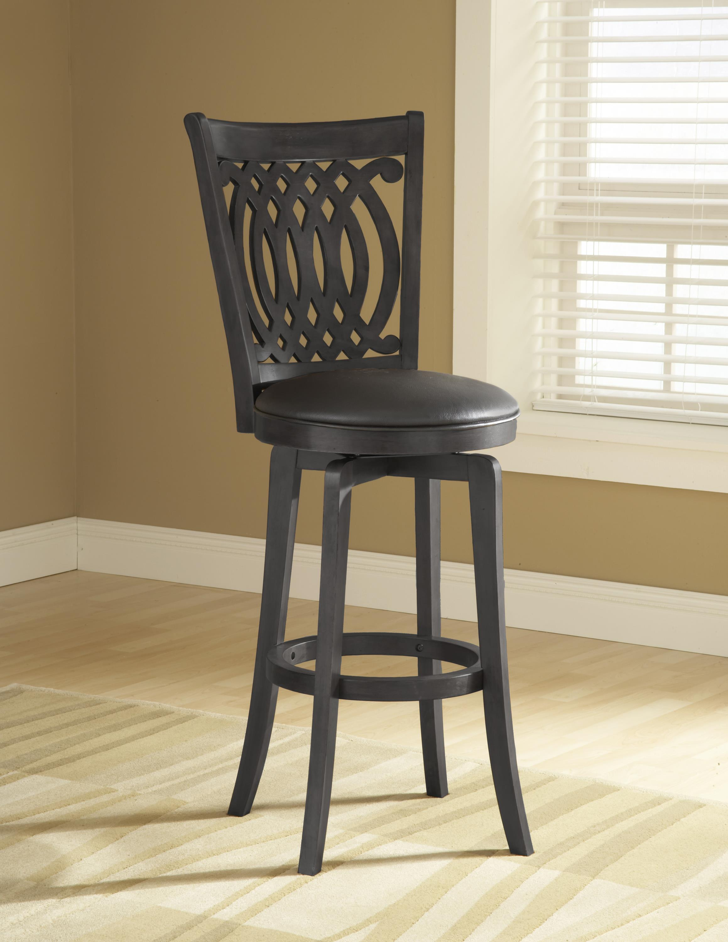 Hillsdale Metal Stools Van Draus Swivel Counter Stool - Item Number: 4975-827