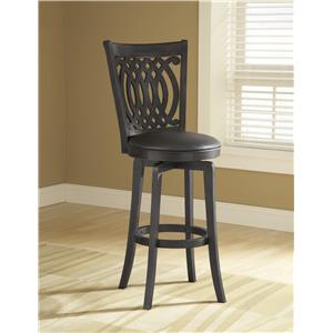 Morris Home Furnishings Metal Stools Van Draus Swivel Counter Stool