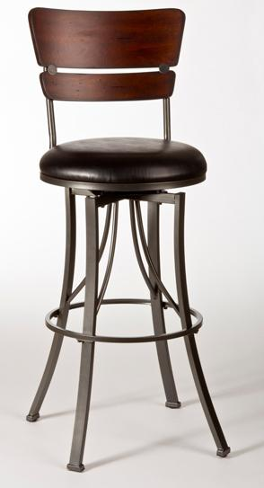 Hillsdale Metal Stools Santa Monica Bar Stool - Item Number: 5097-830