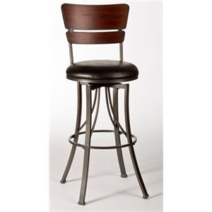 Hillsdale Metal Stools Contemporary Counter Stool