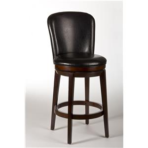 Hillsdale Metal Stools Victoria Swivel Counter Stool