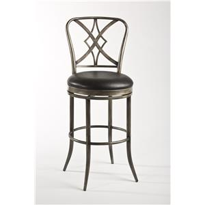 Morris Home Furnishings Metal Stools Jacqueline Counter Stool