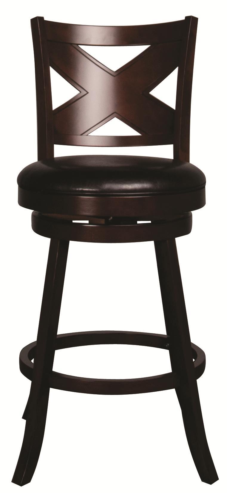 "Morris Home Metal Stools Auburn 30"" Upholstered Barstool - Item Number: 5209-830"
