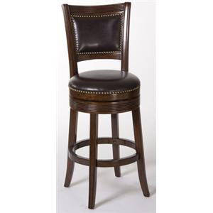 Morris Home Furnishings Metal Stools Lockfield Swivel Counter Stool