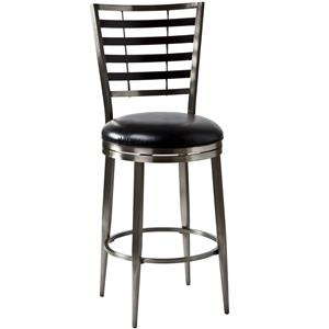 "Hillsdale Metal Stools 30"" Bowman Bar Stool"