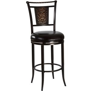 "Morris Home Furnishings Metal Stools 30"" Parkside Bar Stool"