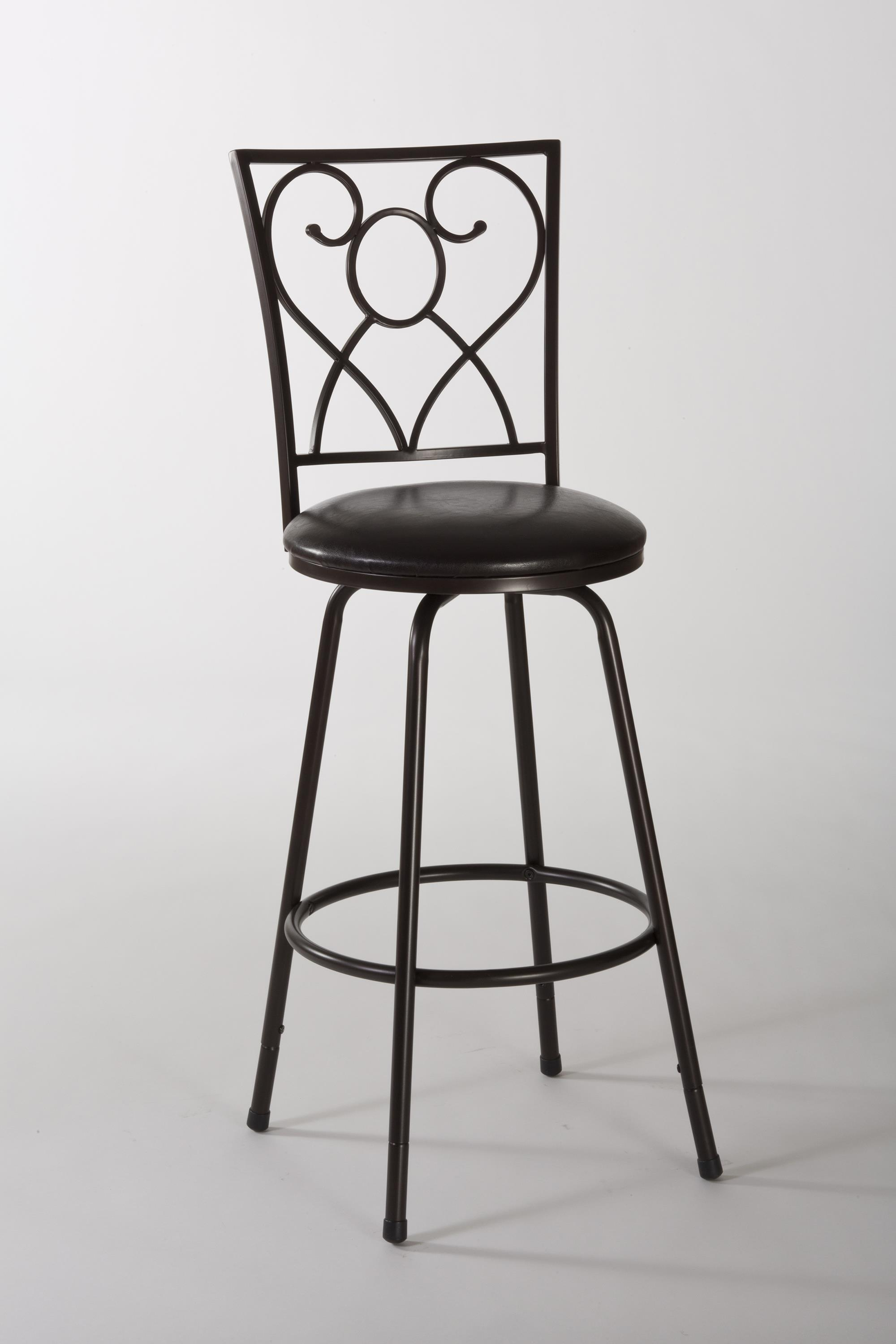 Hillsdale Metal Stools Bellesol Swivel Counter/ Bar Stool - Item Number: 5253-830S