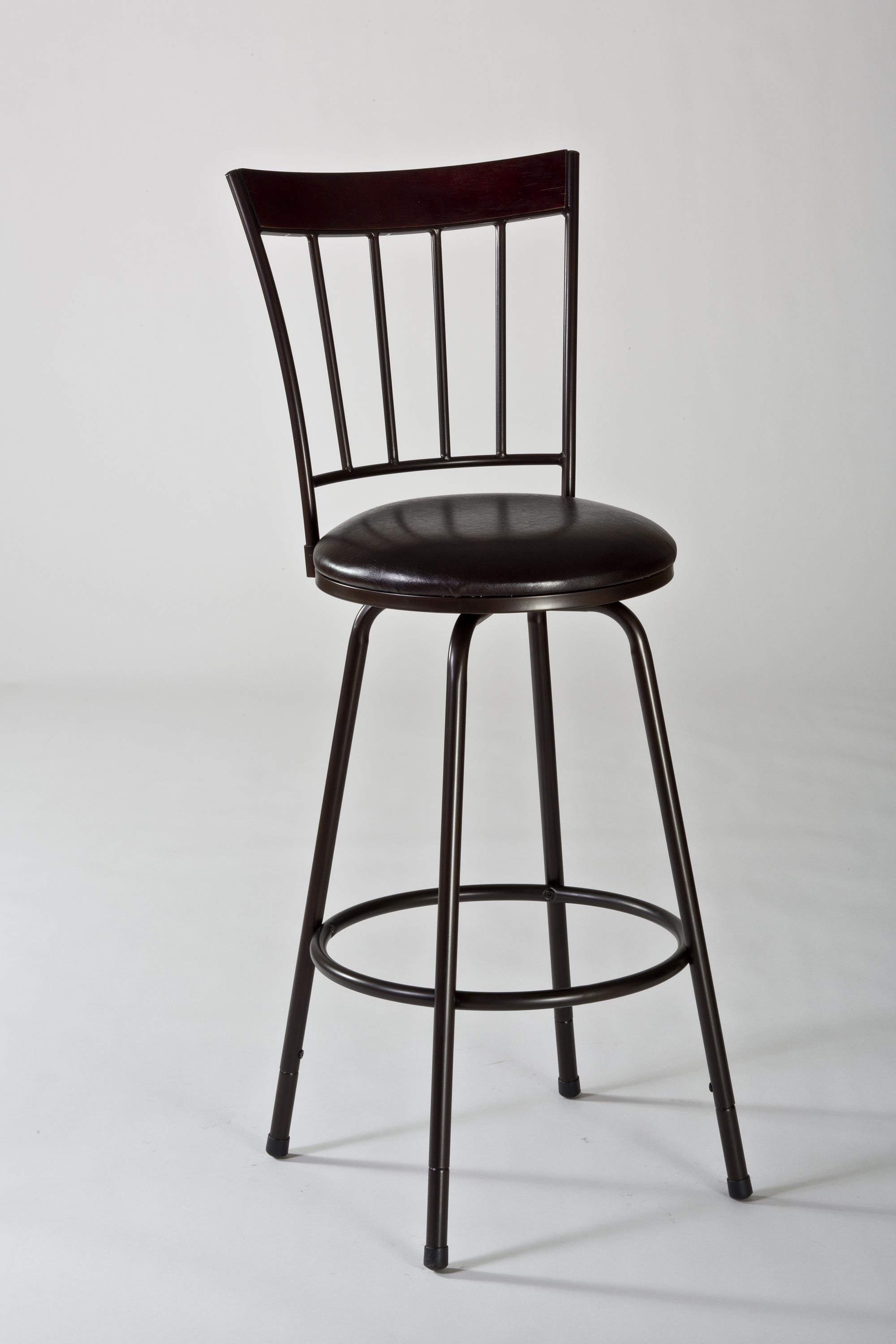 Hillsdale Metal Stools Cantwell Swivel Counter/ Bar Stool - Item Number: 5258-830S