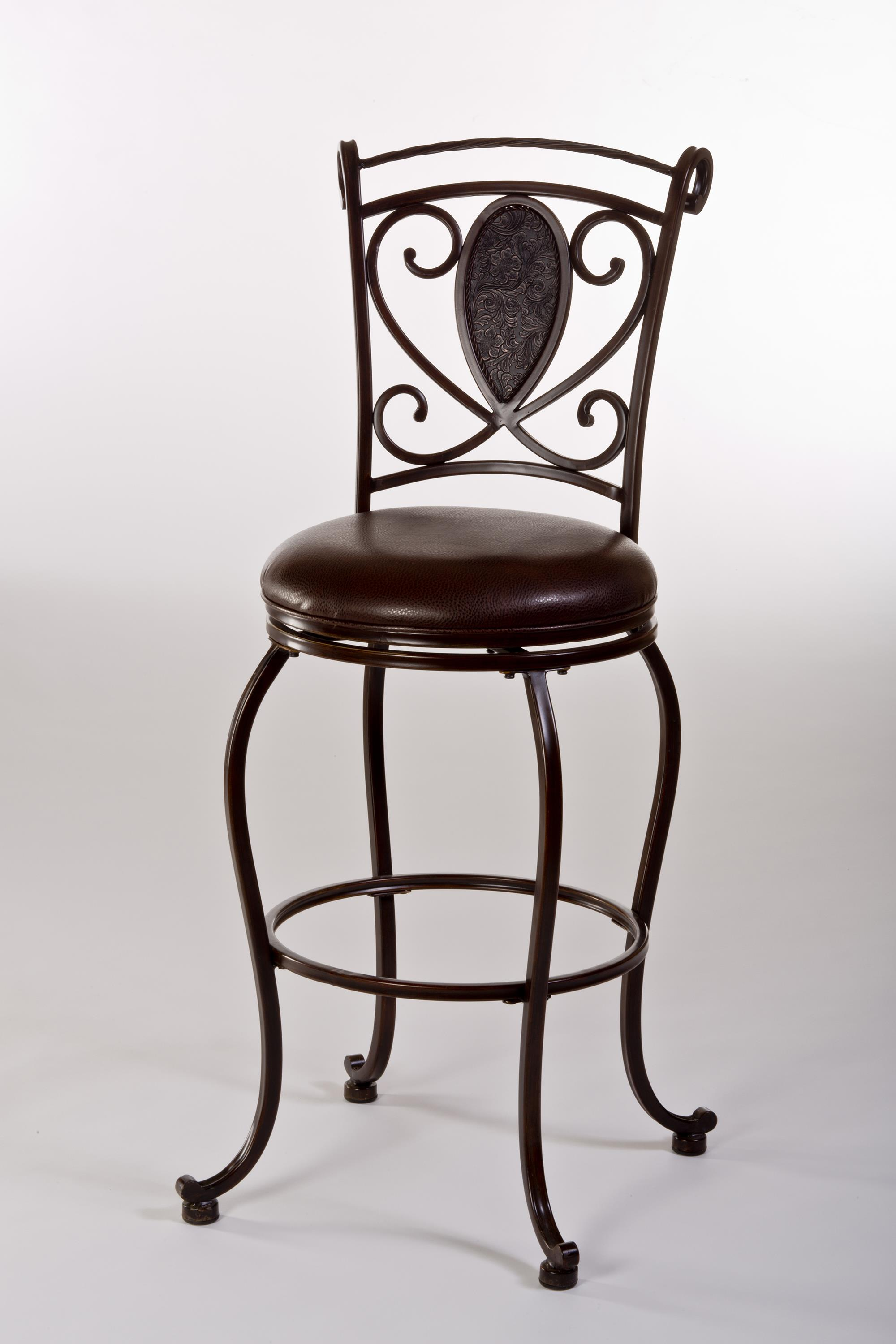 Hillsdale Metal Stools Scarton Swivel Counter Stool - Item Number: 5314-826