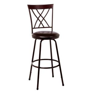 Morris Home Furnishings Metal Stools Northland Swivel Counter/Bar Stool