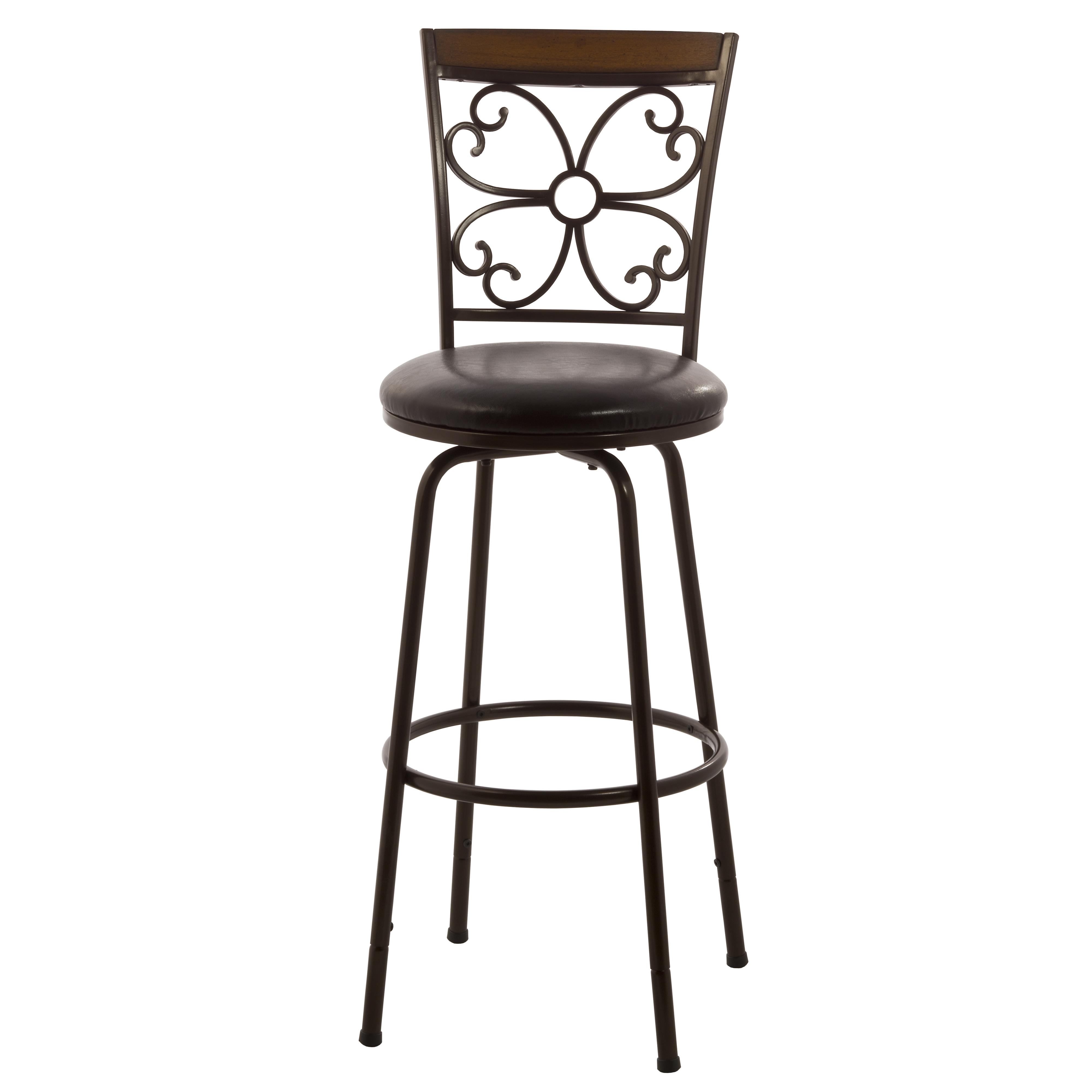 Hillsdale Metal Stools Garrison Swivel Counter/ Bar Stool   Item Number:  5431 830