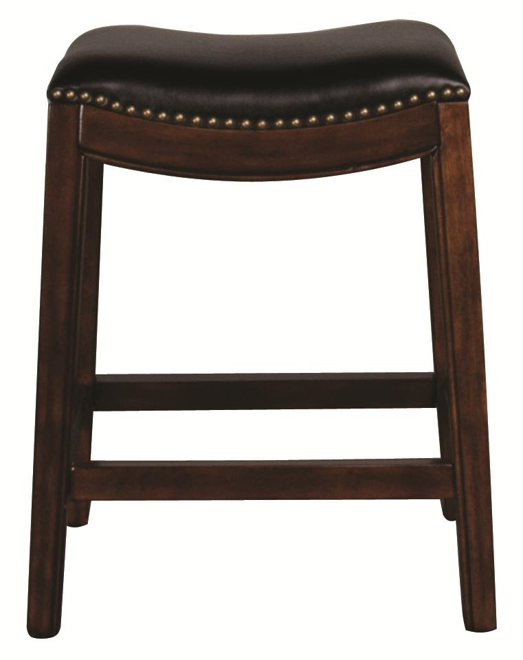 "Morris Home Metal Stools Clarkson 24"" Saddleseat Barstool - Item Number: 5447-826"