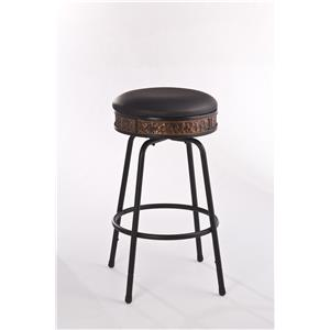 Morris Home Furnishings Metal Stools Adjustable Stool