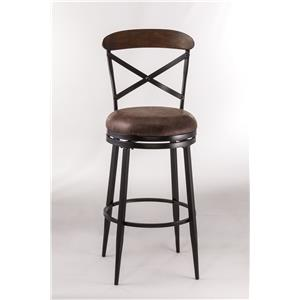 Hillsdale Metal Stools Henderson Swivel Counter Stool