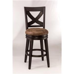 Morris Home Metal Stools Swivel Bar Stool