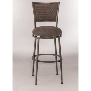 Morris Home Metal Stools Swivel Counter Stool