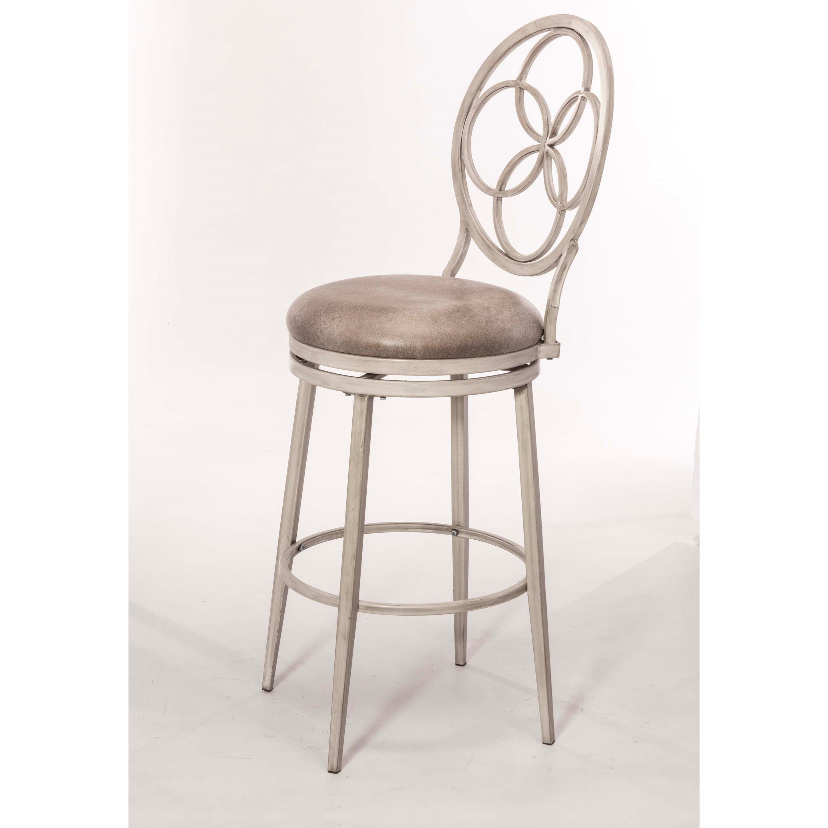 Hillsdale Metal Stools 5991 826 Swivel Counter Stool With