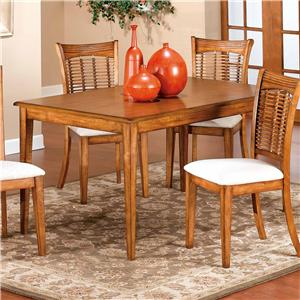 Morris Home Furnishings Bayberry and Glenmary Rectangle Table
