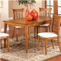 Hillsdale Bayberry and Glenmary Rectangle Table - Item Number: 4766-816