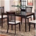 Hillsdale Bayberry and Glenmary Rectangle Dining Table - 4783-814