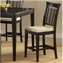 Morris Home Bayberry and Glenmary Non-Swivel Counter Stool Set - Item Number: 4783-822