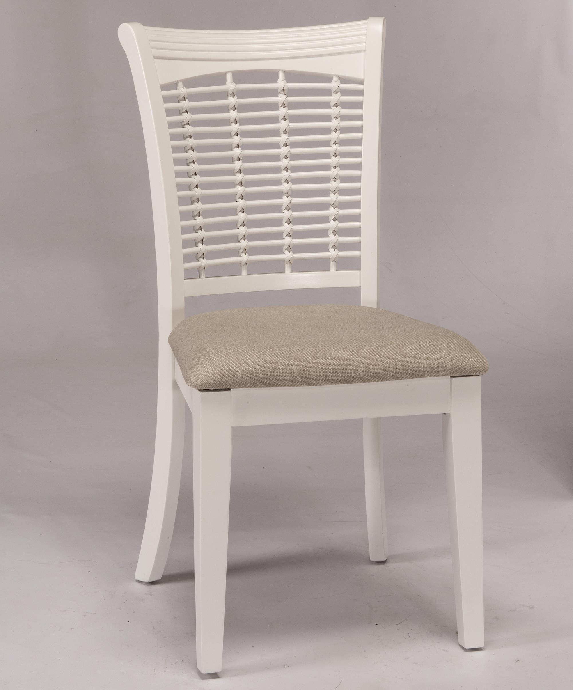 Hillsdale Bayberry White Wicker Chair - Item Number: 5791-802