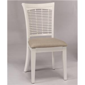 Hillsdale Bayberry White Wicker Chair