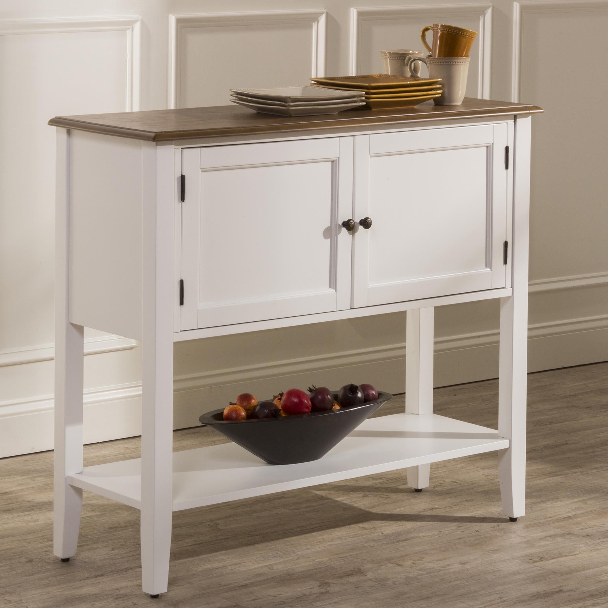 Hillsdale Bayberry White Dining Server - Item Number: 5791-850