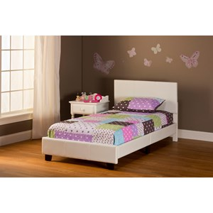 Morris Home Furnishings Bed in a Box Twin Springfield Complete Bed Set