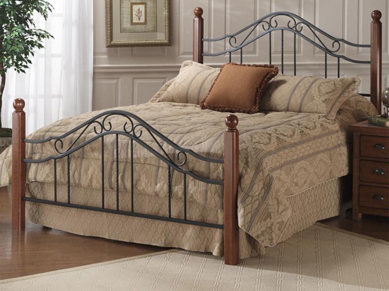 Hillsdale Metal Beds Full Madison Bed - Item Number: 1010-460+110+90046