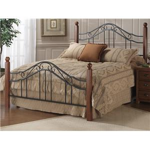 Morris Home Metal Beds King Madison Bed