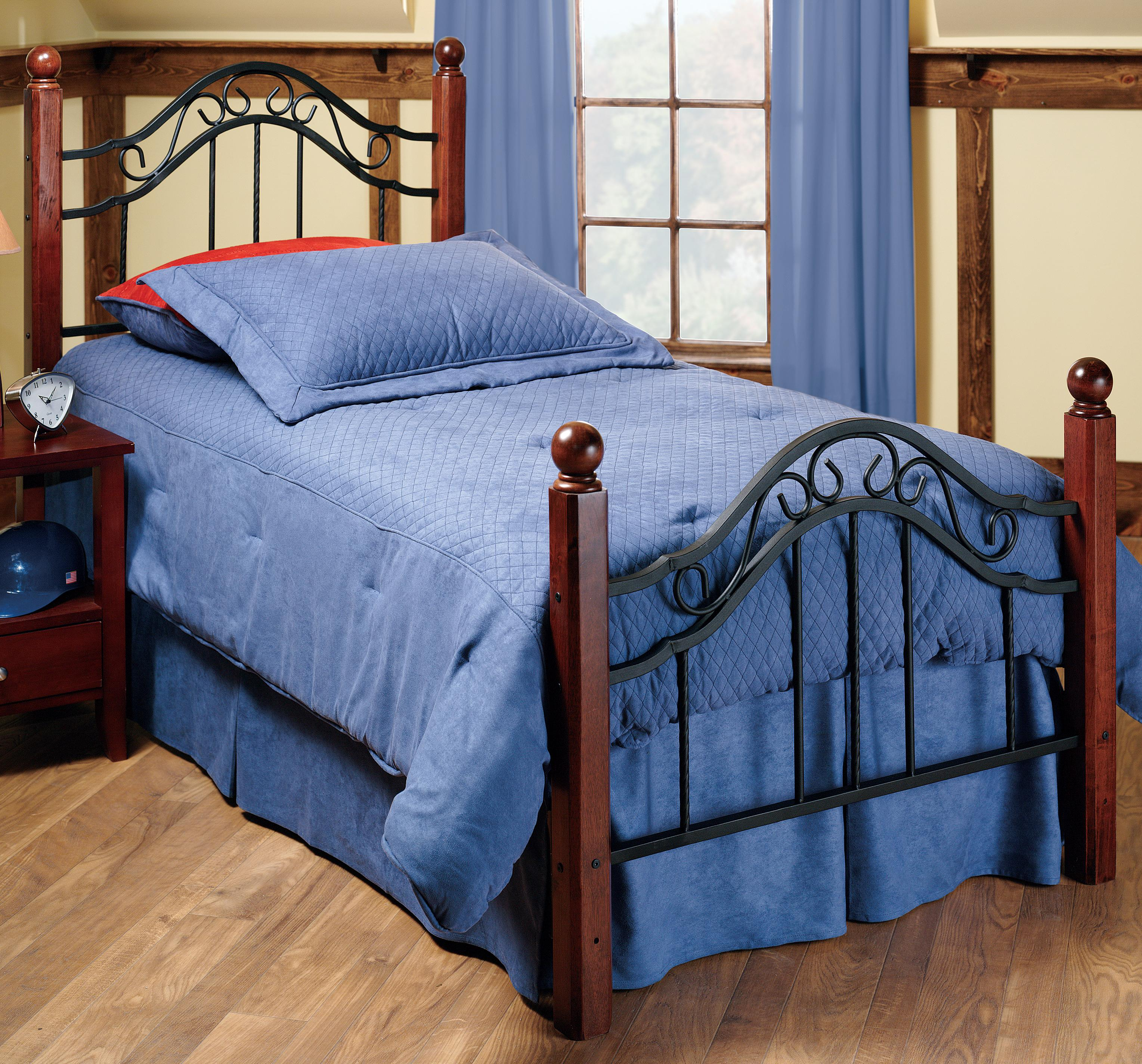 Hillsdale Metal Beds Twin Madison Bed - Item Number: 1010BTWR