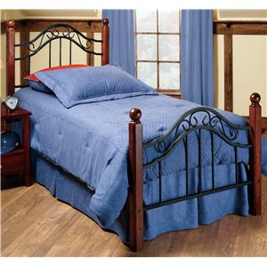 Morris Home Furnishings Metal Beds Queen Madison Bed